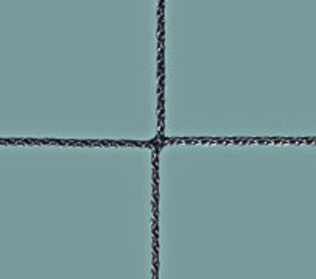 Ballfangnetz Polypropylen, knotenlos 1,5 mm, schwarz