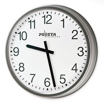 Peweta® Wetterfeste Funk-Außenuhr Batteriebetrieb