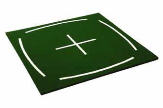 Teaching-Mat 150 x 150 cm / 4 x Tee-Loch