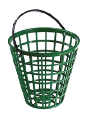 RANGE-BALL Kunststoff-Korb grün, 70-75 Bälle