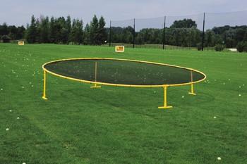 Zielnetz Target  400 cm / schwarz - gelb