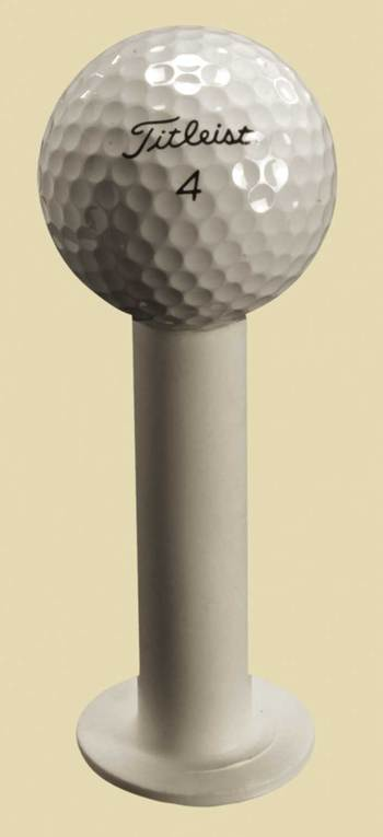 "FIBERBUILT Hollow Tee 3""  ( 76 mm ) weiß"