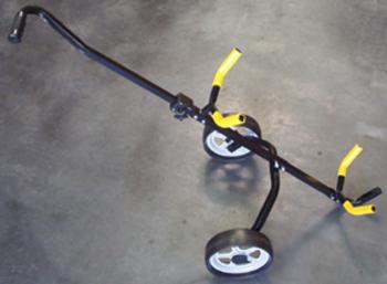 LEIHCADDY aus Stahl mit abnehmbarer Griffstange