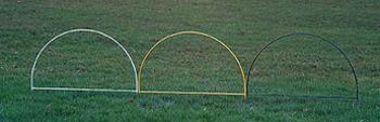 Barrier Hoops, weiß
