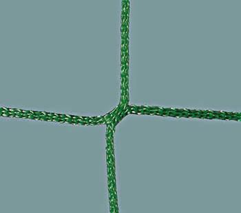 Ballfangnetz Polypropylen, knotenlos 2,3 mm, dunkelgrün