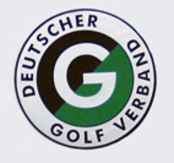DGV -EMBLEM  (Aufkleber) für Course Rating Platte