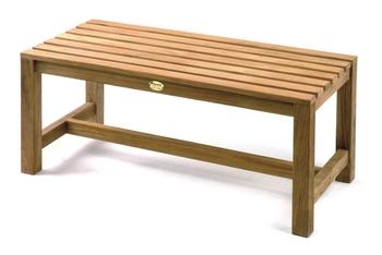 TEAK Junior-Sitzbank 100 x 45 cm