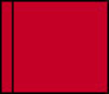 Positionsflaggen, rot