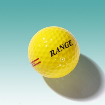 NASSAU RANGE 2-piece Rangeball, gelb / 90er Kompression