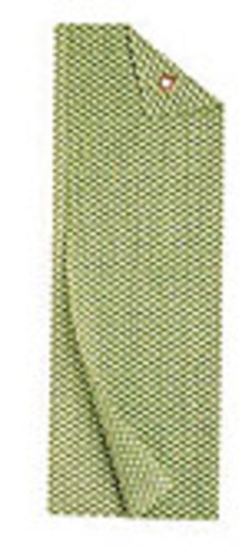 ECONOMY-Tee-Tuch, grün/weiß (200)