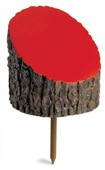 Log Tee Marker-yellow