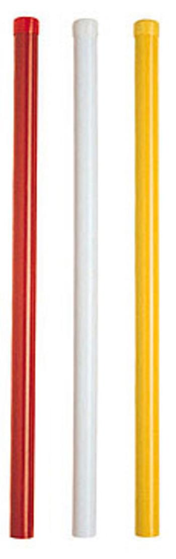 PVC Gefahrenmarker, weiß (Begrenzung)