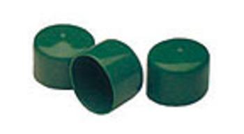 Grüne Verschlusskappe für alle runden Gefahrenmarker