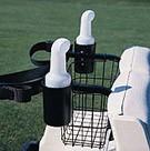 SEED & SOIL- Caddie für Golfcar, schwarz