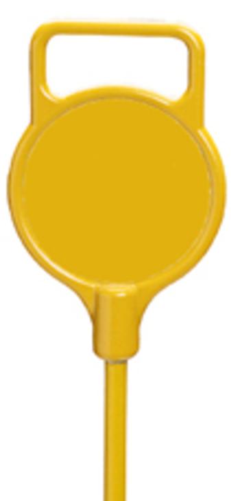 Practice Green CAST Marker Kopf, gelb