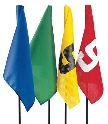 NYLON Flagge rot/weiß TL 10-18