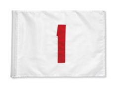 NYLON Flagge weiß/rot TL 1-9