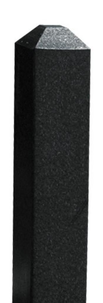 Green Line  Befestigungspfosten 10 x 10 x 183 cm, schwarz