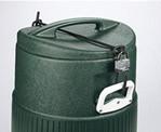 Deckelschloss für Wasserkühler