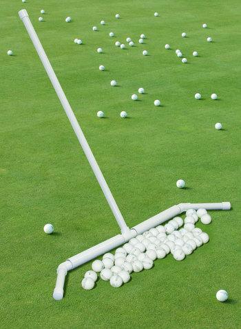 Range Ball Pusher