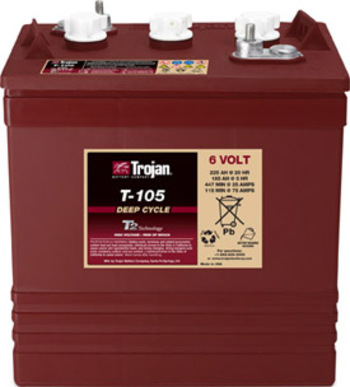 Battery 6 Volt - TROJAN T105