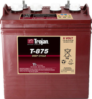 Battery 8 Volt - TROJAN T875